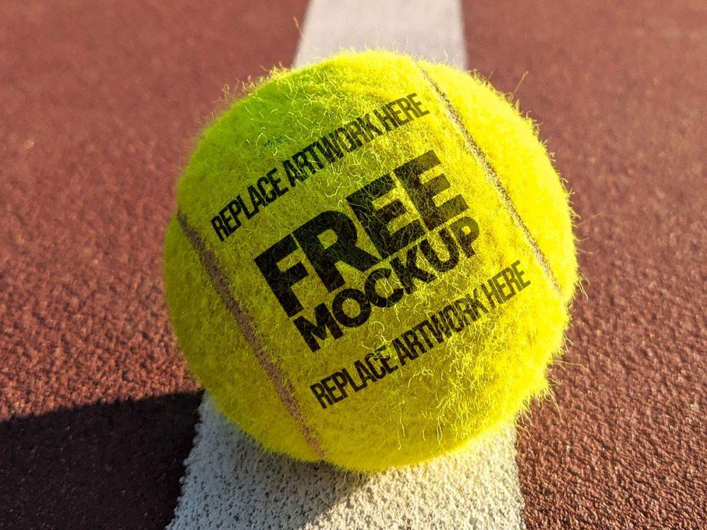 Tennis Ball Logo Mockup  mockup, free mockup, psd mockup, mockup psd, free psd, psd, download mockup, mockup download, photoshop mockup, mock-up, free mock-up, mock-up psd, mockup template, free mockup psd, presentation mockup, branding mockup, free psd mockup