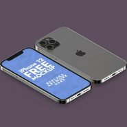 New iPhone 12 Pro Mockup