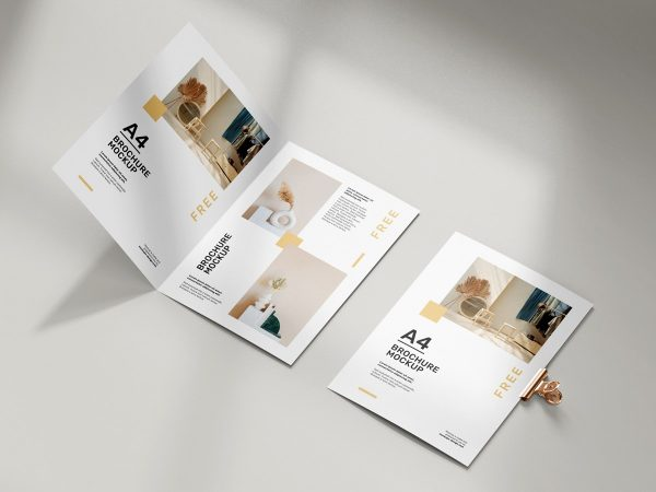 A4 Folded Brochure Mockup  mockup, free mockup, psd mockup, mockup psd, free psd, psd, download mockup, mockup download, photoshop mockup, mock-up, free mock-up, mock-up psd, mockup template, free mockup psd, presentation mockup, branding mockup, free psd mockup