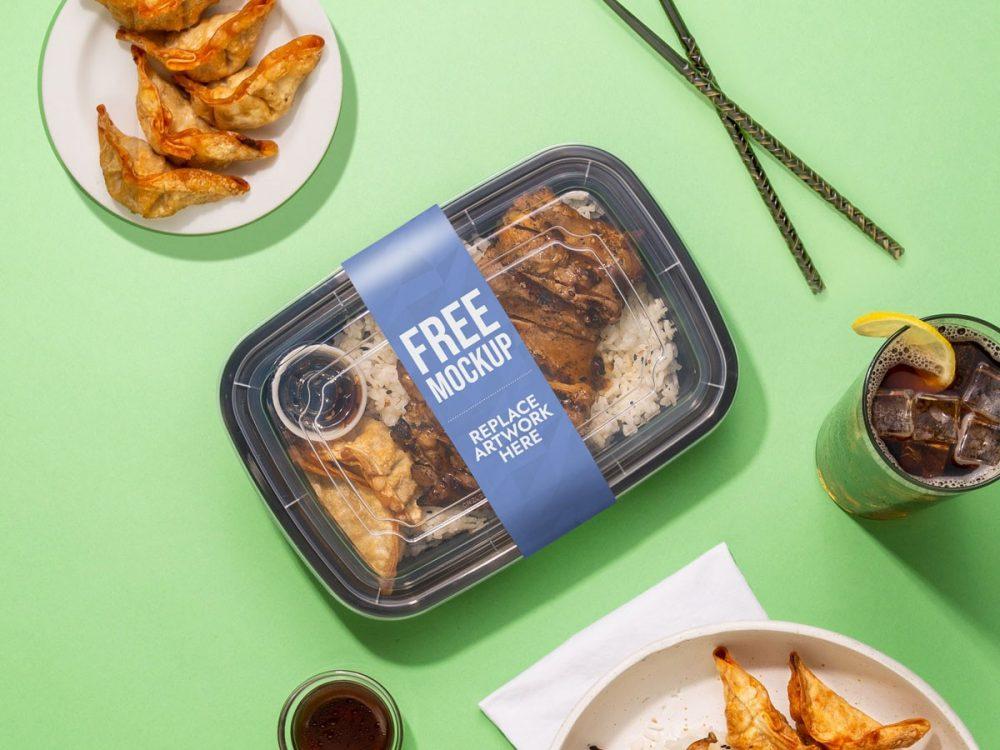 Food Box Packaging Mockup  mockup, free mockup, psd mockup, mockup psd, free psd, psd, download mockup, mockup download, photoshop mockup, mock-up, free mock-up, mock-up psd, mockup template, free mockup psd, presentation mockup, branding mockup, free psd mockup