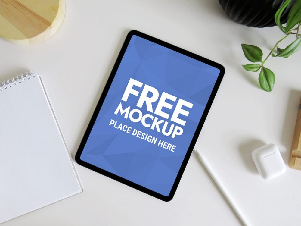 Clean iPad Pro Mockup PSD  mockup, free mockup, psd mockup, mockup psd, free psd, psd, download mockup, mockup download, photoshop mockup, mock-up, free mock-up, mock-up psd, mockup template, free mockup psd, presentation mockup, branding mockup, free psd mockup