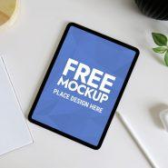 Clean iPad Pro Mockup PSD