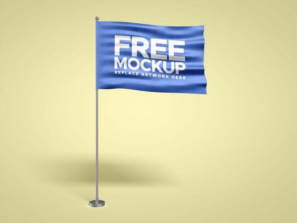 Flag With Pole Mockup  mockup, free mockup, psd mockup, mockup psd, free psd, psd, download mockup, mockup download, photoshop mockup, mock-up, free mock-up, mock-up psd, mockup template, free mockup psd, presentation mockup, branding mockup, free psd mockup