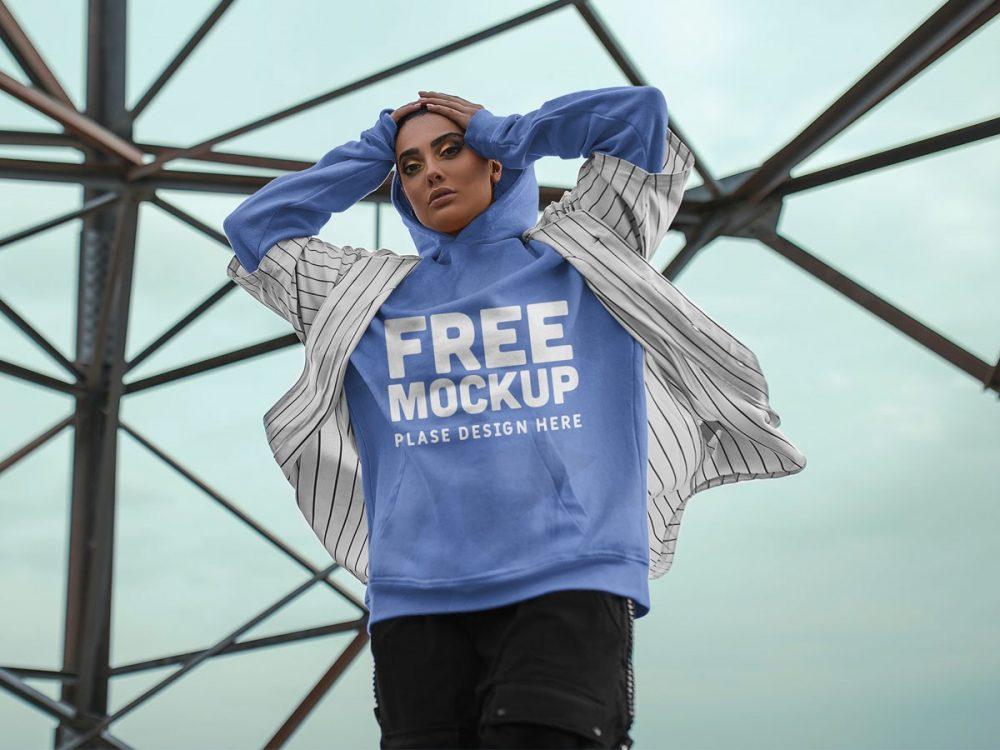 Girl Hoodie Mockup  mockup, free mockup, psd mockup, mockup psd, free psd, psd, download mockup, mockup download, photoshop mockup, mock-up, free mock-up, mock-up psd, mockup template, free mockup psd, presentation mockup, branding mockup, free psd mockup